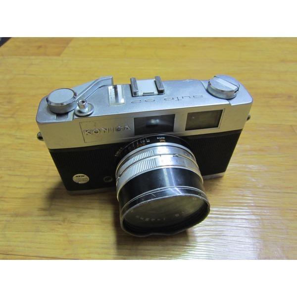 KONICA Auto S2 수동필름카메라 소품 장식 작동 63