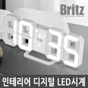 BZ-EW524S-ET 무소음/탁상/인테리어/탁상/LED/시계