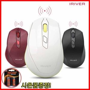 아이리버 EQwear-V30 무소음 무선마우스 블랙