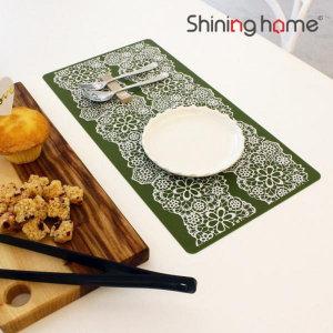 레이스 실리콘 식탁매트/러너 1P-샤이닝홈