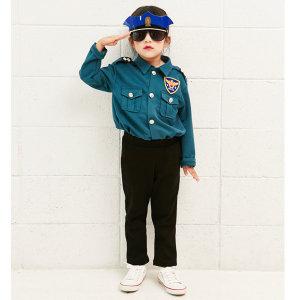 아동 경찰복/유아경찰복/청록/할로윈/경찰옷/의상