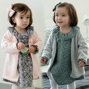 에바 아기 면 니트 가디건 유아 옷 베이비 돌복 외투