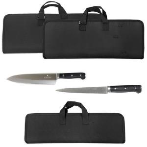 휴대용 블랙 천 칼가방