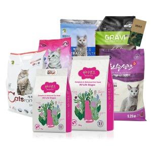 고양이사료 5kg~10kg 캐츠랑 원더캣츠 고양이사료추천