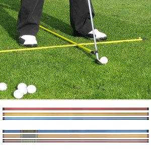 SALE 국산 얼라이먼트스틱 스윙연습기 골프연습용품