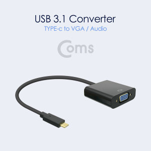 변환 컨버터 C타입 에서 VGA/오디오 출력 가능 미러링
