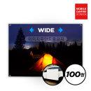 LG시네빔 캠핑스크린 100형 와이드