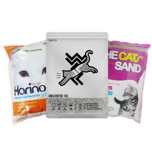 A 고양이모래 벤토나이트 4LX 6개(박스) 고양이용품