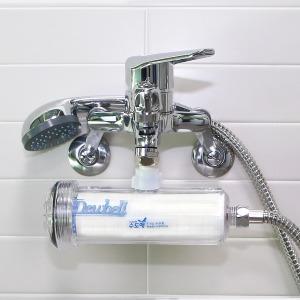 수도애F15 샤워기용 알뜰형 녹물 염소제거 간편연수기