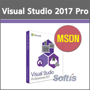 Visual Studio 2017 Pro With MSDN 기업용 License.