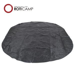 캐노피 팝업 텐트 전용 그라운드시트 3인용 캠핑 용품