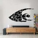그래픽 물고기 포인트스티커
