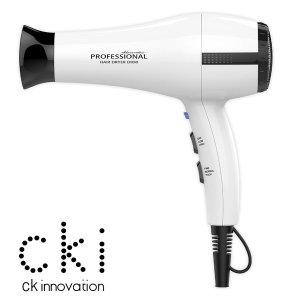 CKI-D950화이트 헤어드라이기 고출력드라이어 전문가용