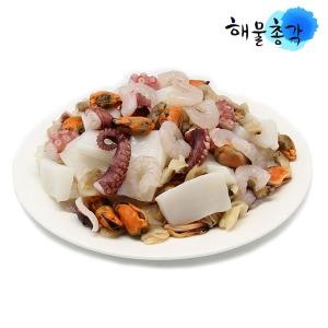 해물모듬900g 바지락 홍합살 자숙 칵테일 냉동 새우살