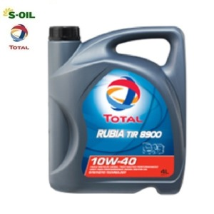 s-oil RUBIA TIR 8900 10W40 4L 4개 1박스 디젤
