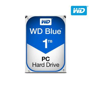 WD공식 BLUE 1TB WD10EZEX 하드디스크 HDD SATA3