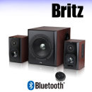 BR-4390BT /2.1채널 블루투스 우퍼 스피커 /컴퓨터 TV