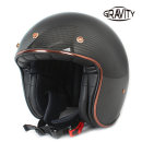 그라비티 G 클래식 카본 유광블랙 오토바이 헬멧 용품