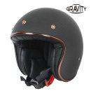 그라비티 G 클래식 카본 무광블랙 오토바이 헬멧 용품