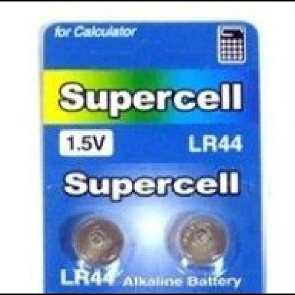 (슈퍼셀) 수은건전지 LR44 (버튼셀1.5V10개묶음) 카메