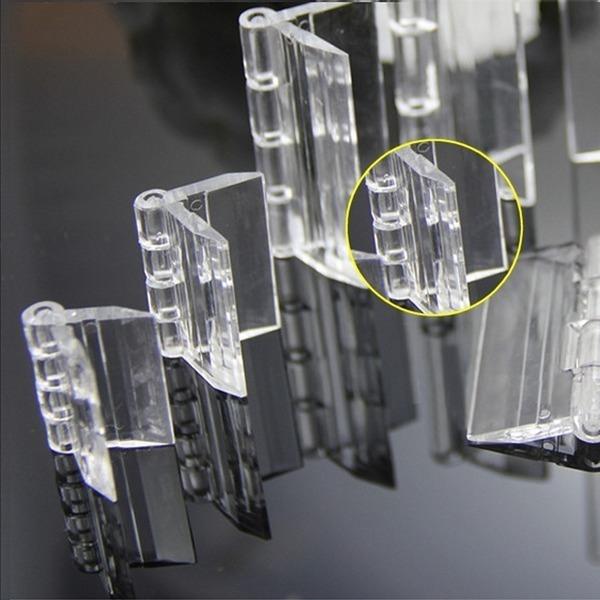 고급형 아크릴 경첩 6종-아크릴판 diy 투명 전시 용품