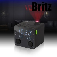 BZ-CR3747P/프로젝터 시간표시 알람시계 스피커 Radio