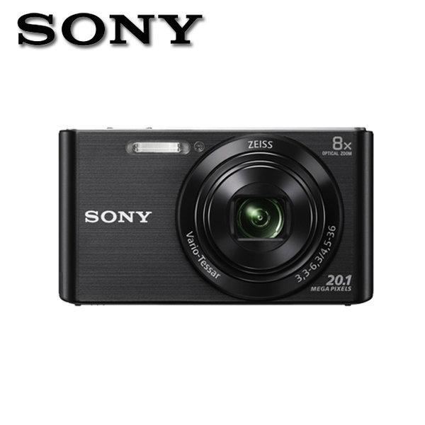 소니 DSC-W830 블랙 2010만화소 8배줌 디지털 카메라