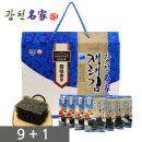 도시락김16봉 선물세트 9+1 /전장김/프리미엄 선물세트