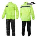 BBJ 오토바이 우의 우비 등산 낚시용 비옷 네온 옐로우