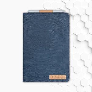 베토벤 갤럭시 탭 S4 10.5 천연가죽 네이비 케이스