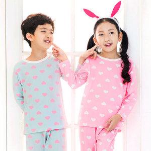슈가하트 아동잠옷/이지웨어 슈가하트 아동잠옷(긴팔)
