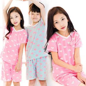 슈가하트 아동잠옷/이지웨어 슈가하트 아동잠옷(반팔)