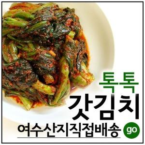 여수돌산갓김치 40년전통명품 3kg 여수청산식품