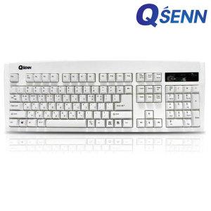 2k SEM-DT35 NEW 화이트 USB 멤브레인 유선 키보드