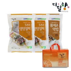 (현대Hmall)디딜향 떡2종 선물세트 총60개입(영양찰떡40개+전통약밥20개)