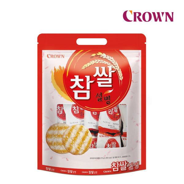 크라운 참쌀설병 270g 스마일배송