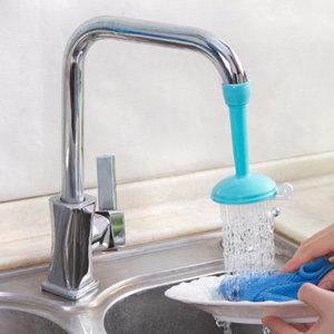 절수기 수도절수기 싱크대 물절약 싱크대 절수기 블루 - 상품 이미지