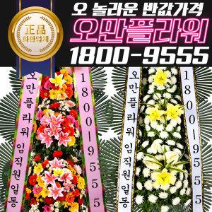 전국 꽃배달 오만플라원 축하근조화환 5만원
