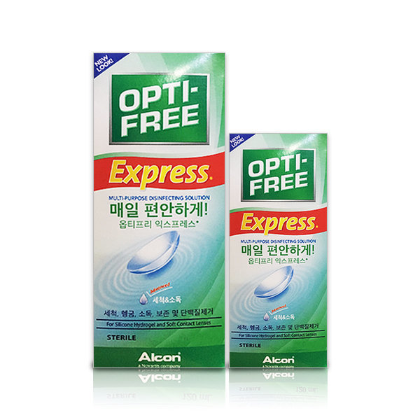 옵티프리익스프레스액 355ml 다목적소독용액 렌즈세척