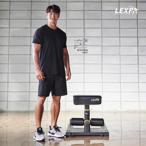 리퍼 김종국과 함께하는 스쿼트머신 YA-6300+스트레칭밴드