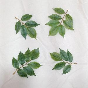 느티잎사귀/1봉지 24개/느티나뭇잎조화/인조나무