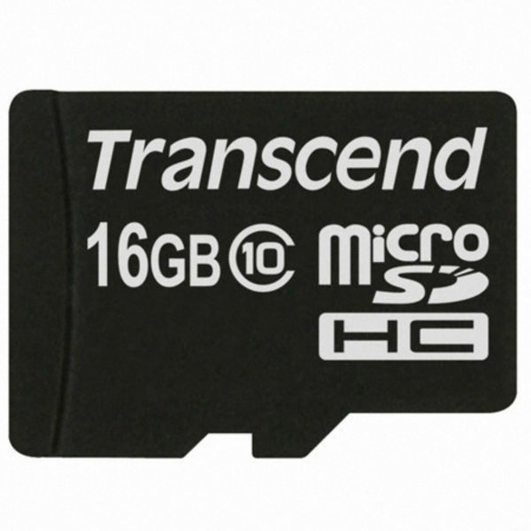 (GC) 트랜센드  Micro SDHC(T-Flash) 16GB Class 10 (