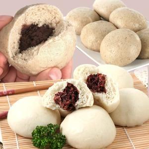 옛날통팥 찐빵/찐빵1.8kg/메밀찐빵/호빵/빵