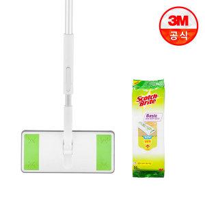 표준형 올터치 막대걸레+베이직 정전기 50매