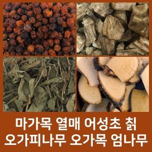 마가목열매/껍질 오가피나무 오가목 엄나무 칡