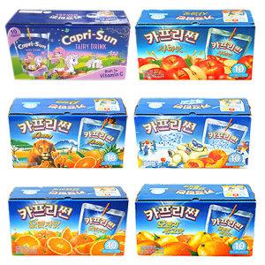 카프리썬1BOX(200ml_10봉)오렌지망고/사과/오렌지/6종