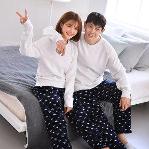 수면 잠옷 홈웨어 파자마 수면바지 심플도그 수면바지