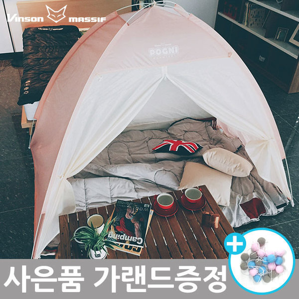 빈슨메시프 포그니 원터치 방한 난방 보온 텐트 (킹)