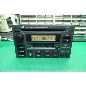 부산중고카오디오/현대 순정2딘 무출력 오디오 H-290