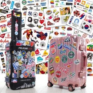 캐리어 스티커 여행가방 빈티지 팝 노트북 스티커